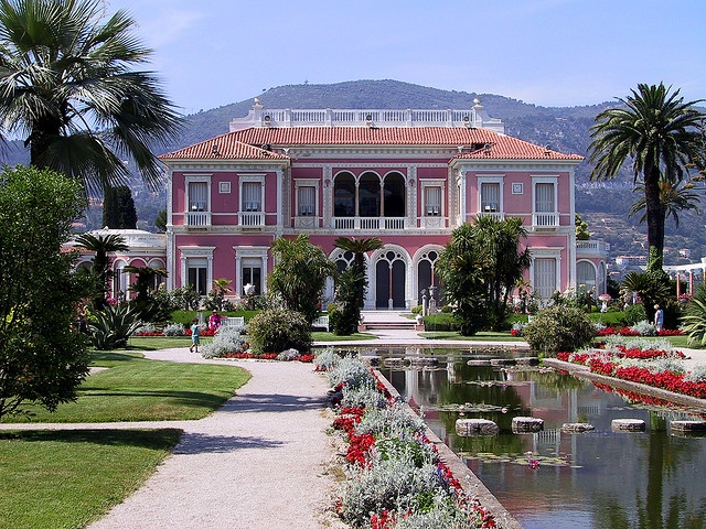 The Rothschild mansion in St Jean Cap Ferrat