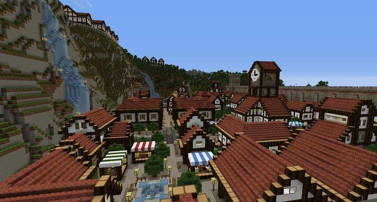 Aspenwood Village Minecraft Project