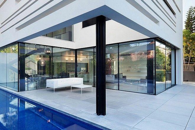 Apexfine super slim sliding doors at Solarfold