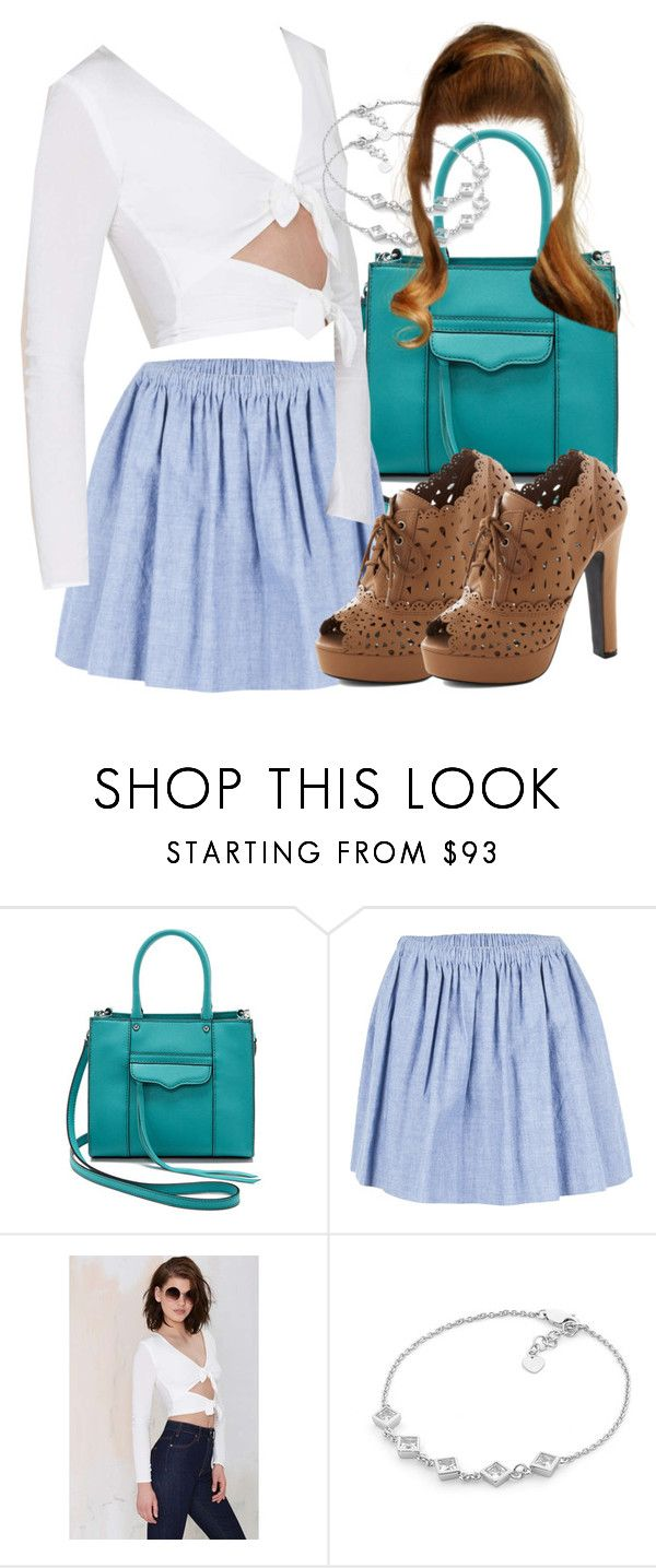 """Lydia Inspired Picnic Outfit"" by veterization ❤ liked on Polyvore featuring Rebecca Minkoff, Harvey Faircloth and For Love & Lemons"
