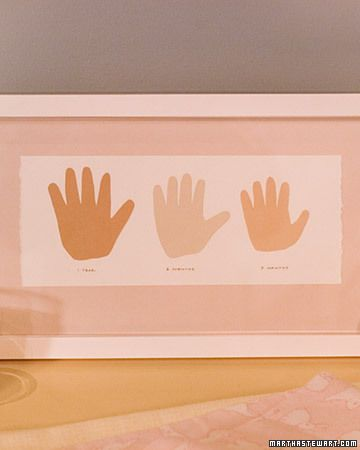 Hand Tracing - Martha Stewart Crafts