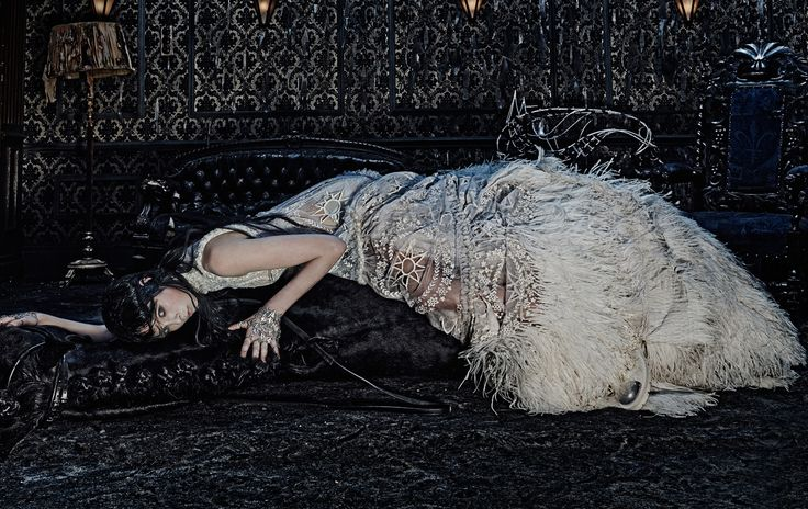Edie Campbell by Steven Klein for Alexander McQueen Fall/Winter 2014/2015 Campaign