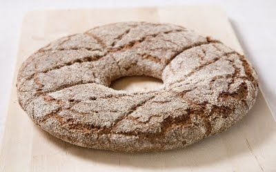 Ruispalatt - Delicious Rye Bread! This is best with Finnish butter, so I hear! Want some!