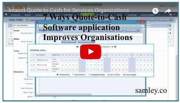 Ways QuoteToCash Software Application Improves HttpWww