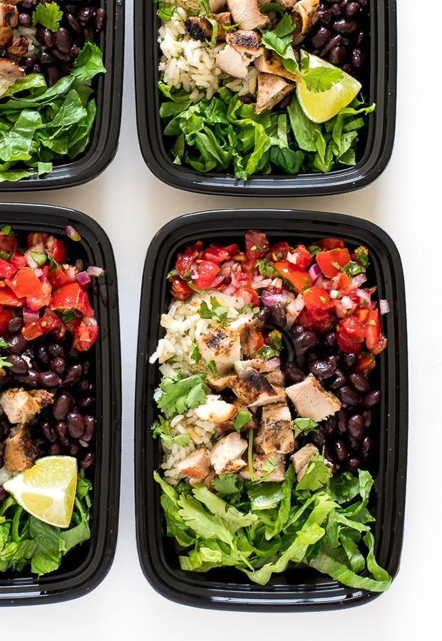 14 high protein low carb recipes to make lunch better dinner high protein low carb recipes chicken burrito bowls forumfinder Images
