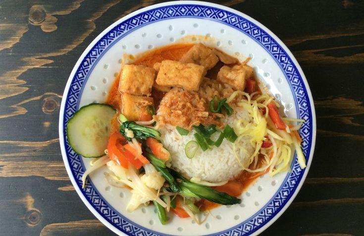 Rotes Curry mit TofuMittagsempfehlung: Der Asien-Shop in der Kölner Innenstadt
