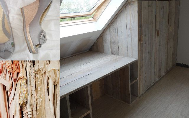 Dimas Bureau + kasten ? Sloophouten en steigerhouten meubelen op maat gemaakt - PURE Wood Design