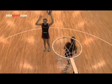 Netball Skills: Competing for a Rebound