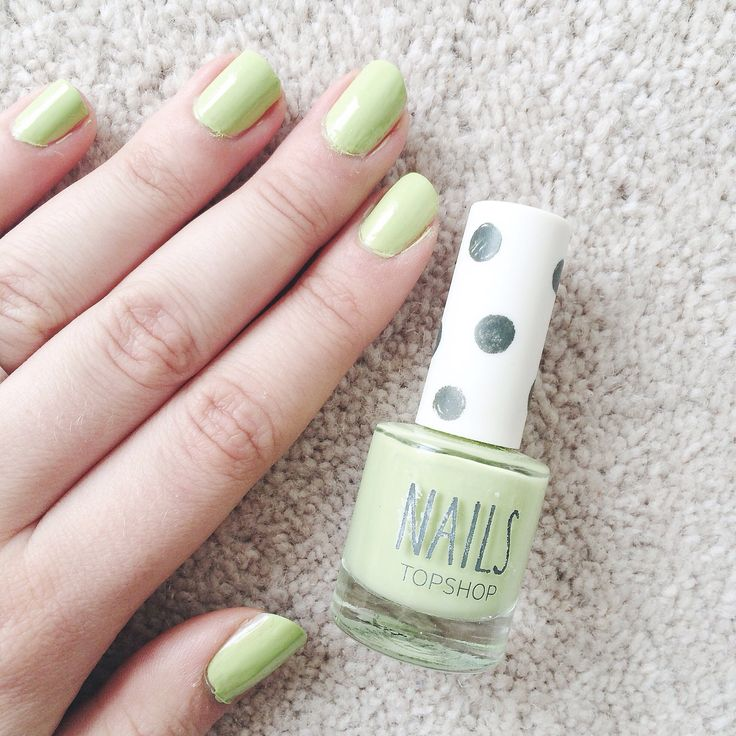 The Alternative Pastel Nail Polish: Topshop Venus Fly Trap | oh, samantha louise