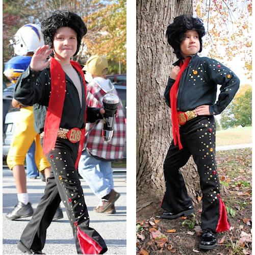 DIY Elvis Costume