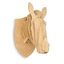 3D Faux Horse Head