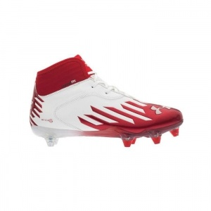 Under Armour Nitro Diablo Football Cleats Mens Red Synthetic - ONLY $89.99