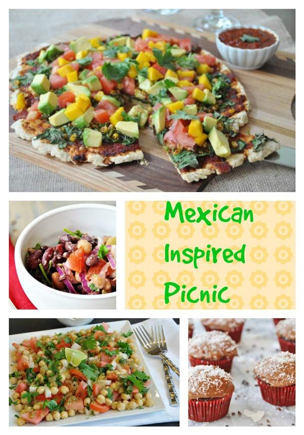 Vegan Mexican Inspired Picnic Ideas