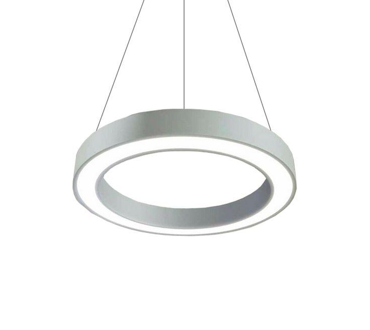 Circle — Подвесной светильник кольцо — это уникальная разработка в области декоративного освещения. Светильник выполнен путем трудоемкого процесса изгибания алюминиевого профиля в непрерывное без шовное кольцо. Стандартное покрытие корпуса порошковая краска, цвет краски по выбору из таблицы кодов RAL. Подвесной светодиодный светильник имеет степень защиты IP 40. Опционально Подвесной декоративный светильник производится двухсторонним с одновременно направленным световым поток как вниз так и…