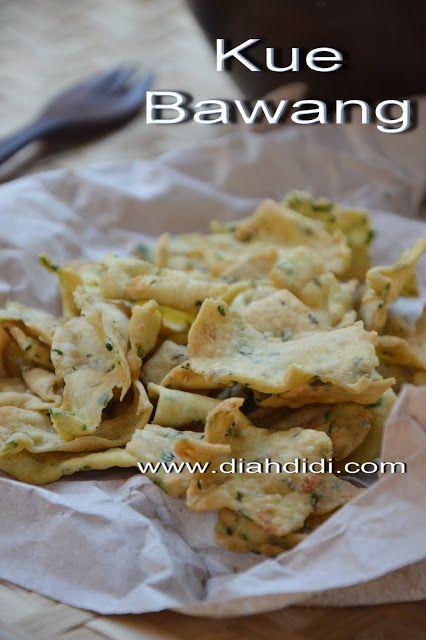 Diah Didi's Kitchen: Resep Kue Bawang Gurih dan Renyah ...