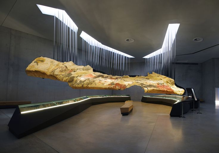 Snøhetta masterfully creates a new museum setting for 17,000-year-old cave art. (© Eric Solé)