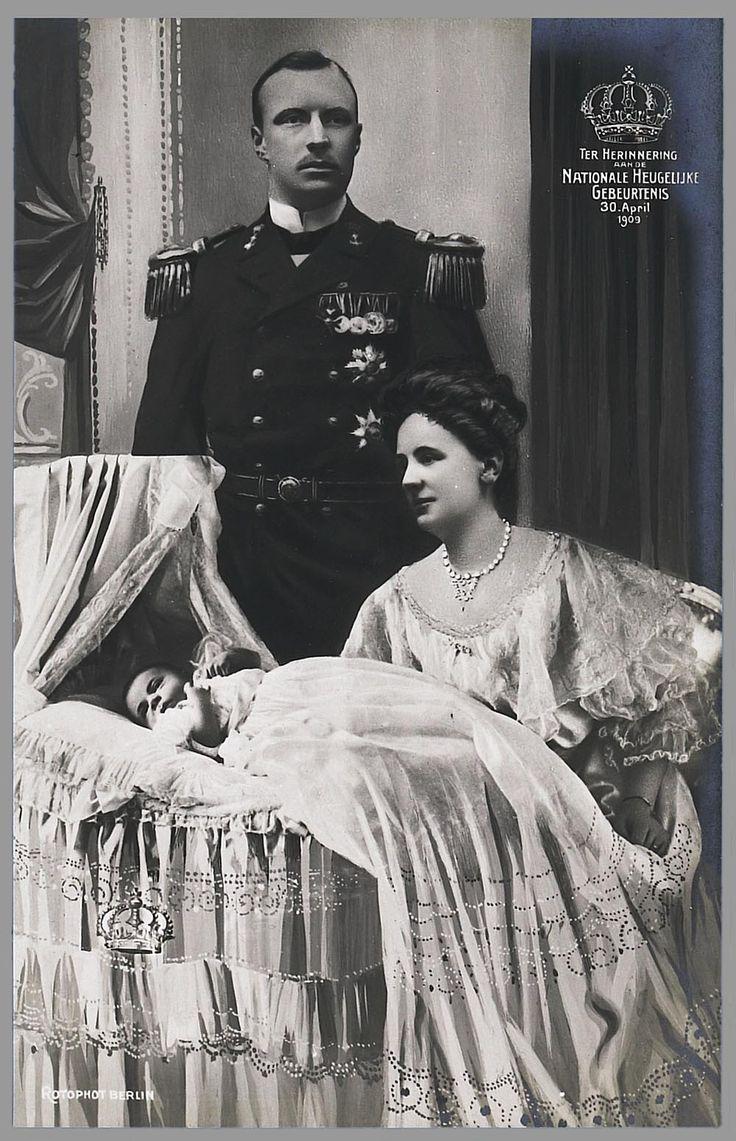 Geboorte prinses Juliana, 1909