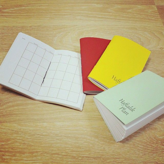 de7tasarim's photo on Instagram renkli haftalık planlar