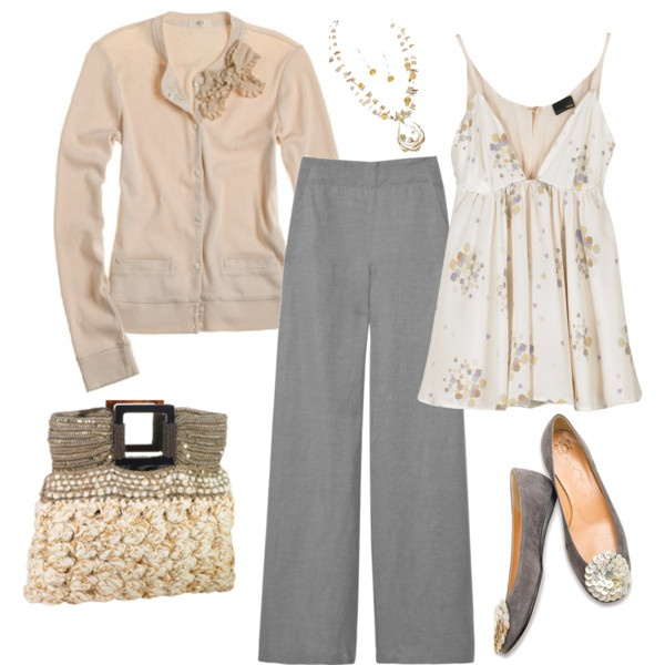 Love the Fendi top for anything, the whole look for work...