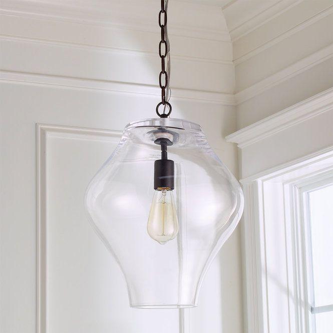 Shapely Glass Lantern Lantern Pendant Small Pendant Lights