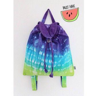 bohemian bag boho hipster grunge indie summer backpack festival tie dye fashion school bag tees to dye for accessories tie dye backpack ombre old school bag bohemian