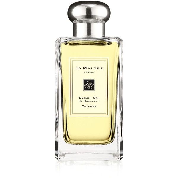 Jo Malone London English Oak & Hazelnut Cologne 3.4 oz. ($135) ❤ liked on Polyvore featuring beauty products, fragrance, no color, cologne fragrance, eau de cologne, woodsy cologne, jo malone cologne and vetiver cologne