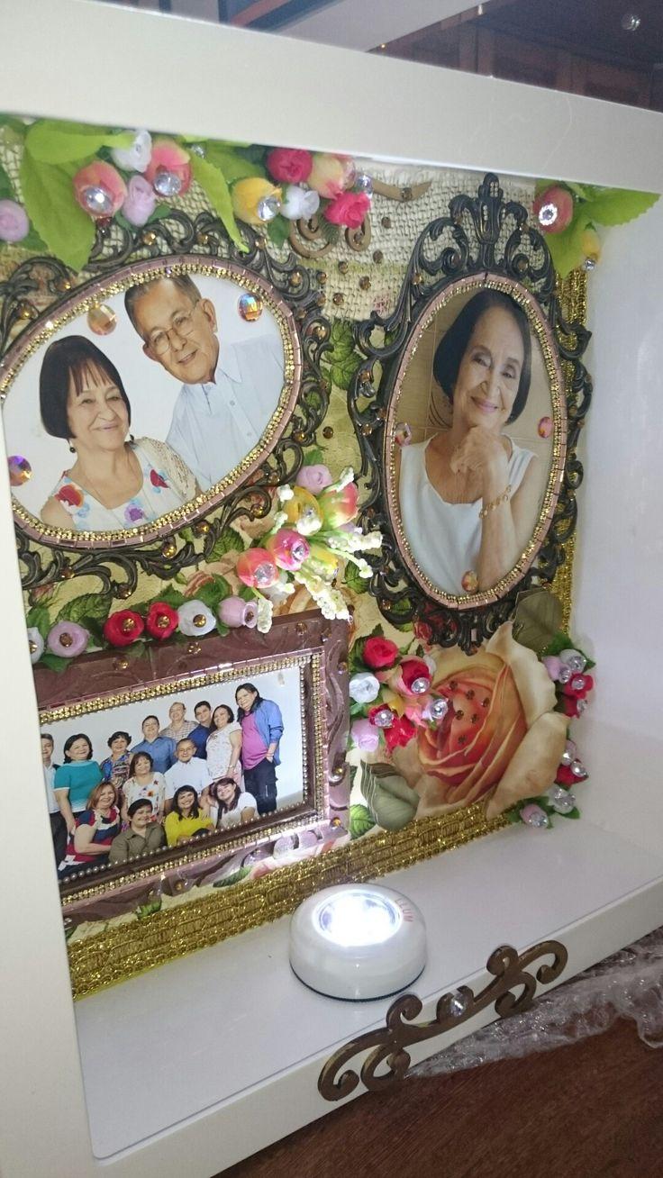 Caixa de Recordação em scrapbook