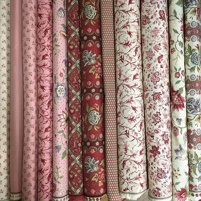 More deliciousness from @frenchgeneral  pretty pastels lots of florals and sweet little birds - Jardin De Versailles has it all  #luccellomelbourne #frenchgeneral #frenchstyle #jardindeversailles #showmethemoda #modafabrics #quilting #patchwork
