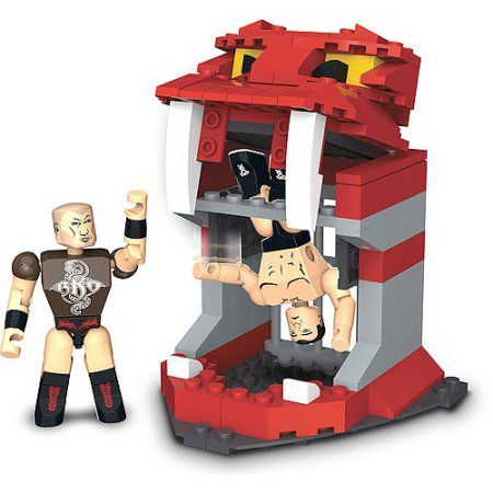C3 WWE StackDown Randy Orton's Viper Pit Set, Multicolor