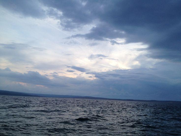 A horizon from the Dalmatian coast