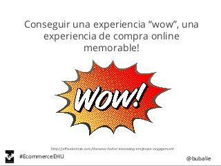 Ux e ecommerce - Cursos de verano UPV/EHU