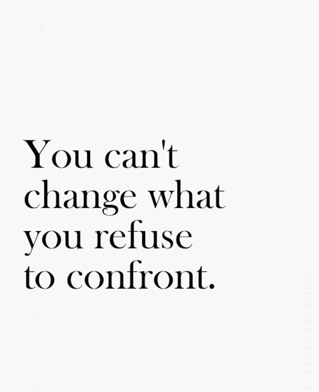 // good reminders of how/when to confront people and do it effectively. effective confrontation leads to change. //
