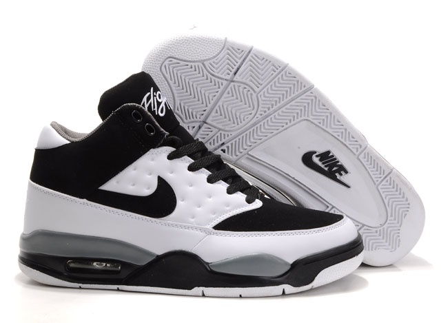 Supply Cheap Air Flight Classic Black-White Gray Men's Shoes as the nike  air shoes sale for you is sexy, Comfortable is very important, I feel that  for the ...