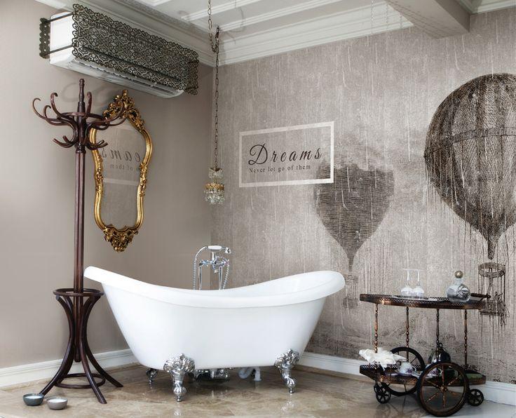 How To Create A Greyscale Bathroom: Walls Republic On Pinterest