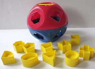 Tupperware Shapes Ball - did you have one?