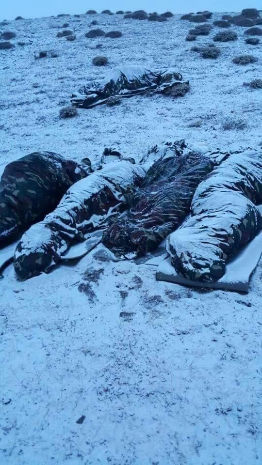 Turkish Armed Forces  rahat uyuyorsak o askerlerimiz o şartlarda bizim için olduğu içindir . dualarımızda onlarıda bir nebze hatırlayalım