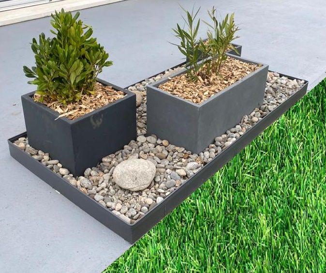 Bordures Aluminium Pour Surfaces Dures Sans Percage En 2020 Massif Fleurs Bordure De Jardin Separation Jardin