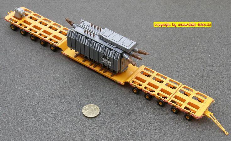 Scheuerle K 60/2 Tieflader mit Trafo (Kibri 10126)