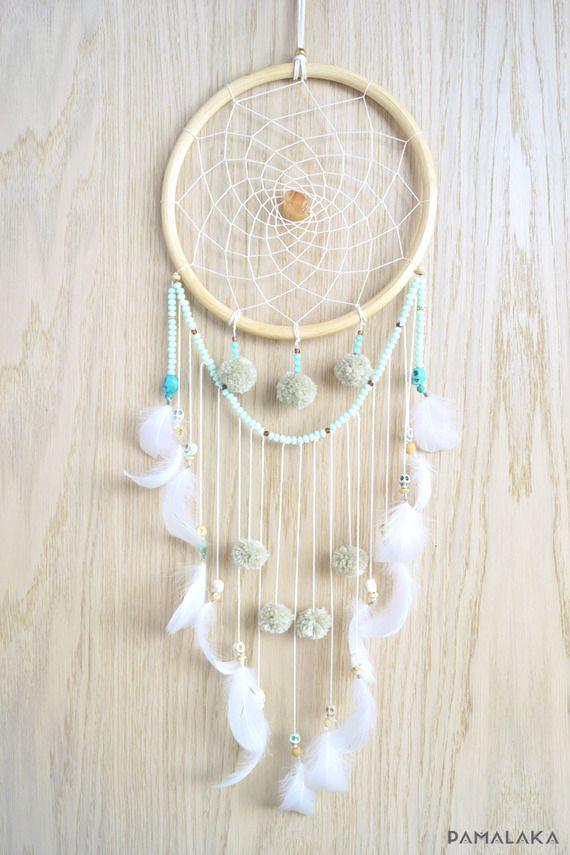 Dreamcatcher Attrape reve Gypsy pastel - www.pamalaka.com