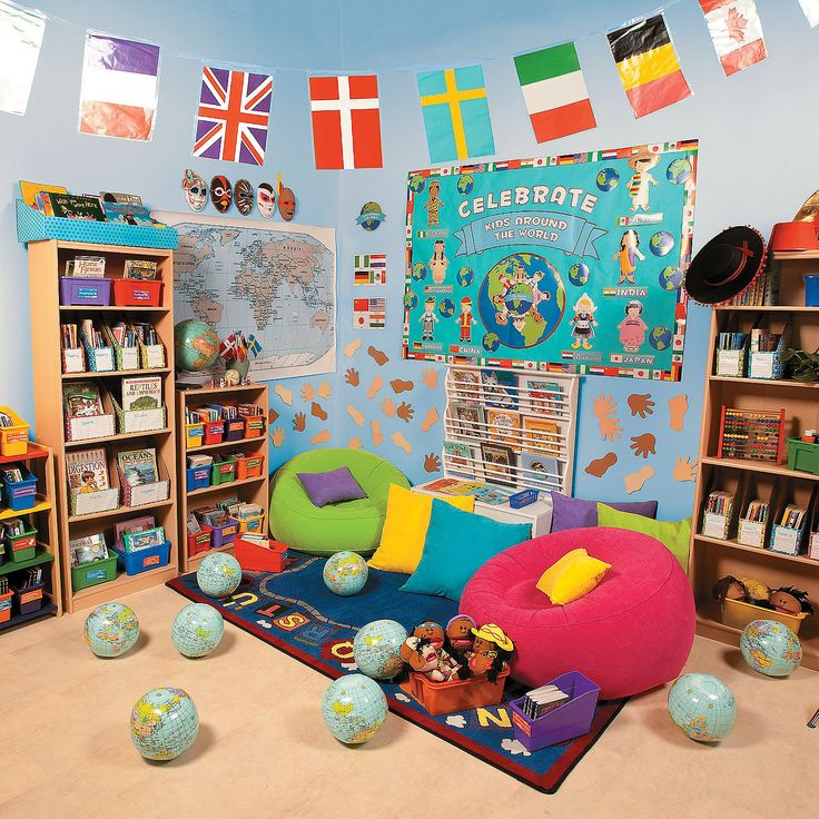 Multicultural Classroom Decor : Best images about decorating your child care center on