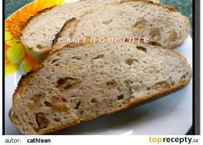 Klasický kváskový chléb se škvarkama (z remosky nebo trouby) recept - TopRecepty.cz