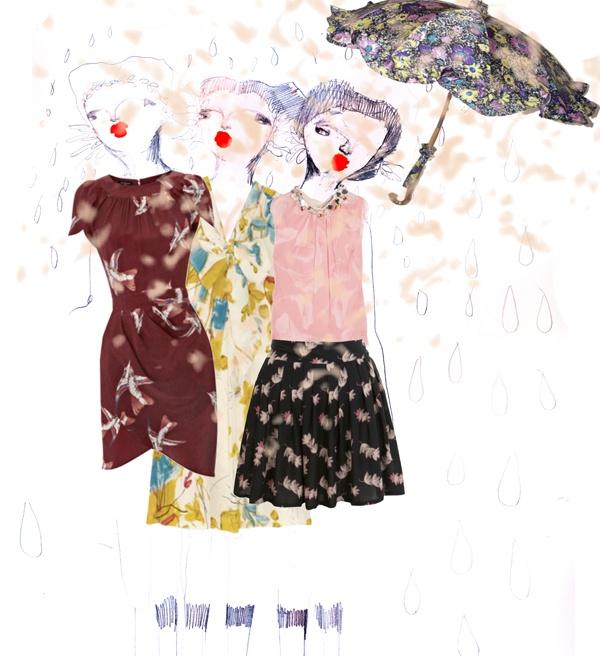 Animals & Flowers  Illustration by Giulia Cerini