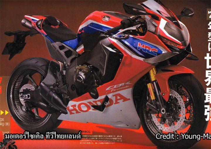 Honda V4 Superbike 2020 Motos