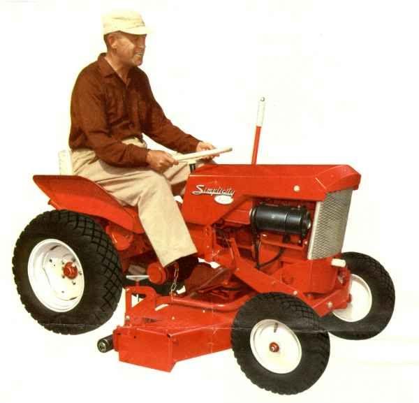 1959 Model 700 Simplicity Garden Tractor