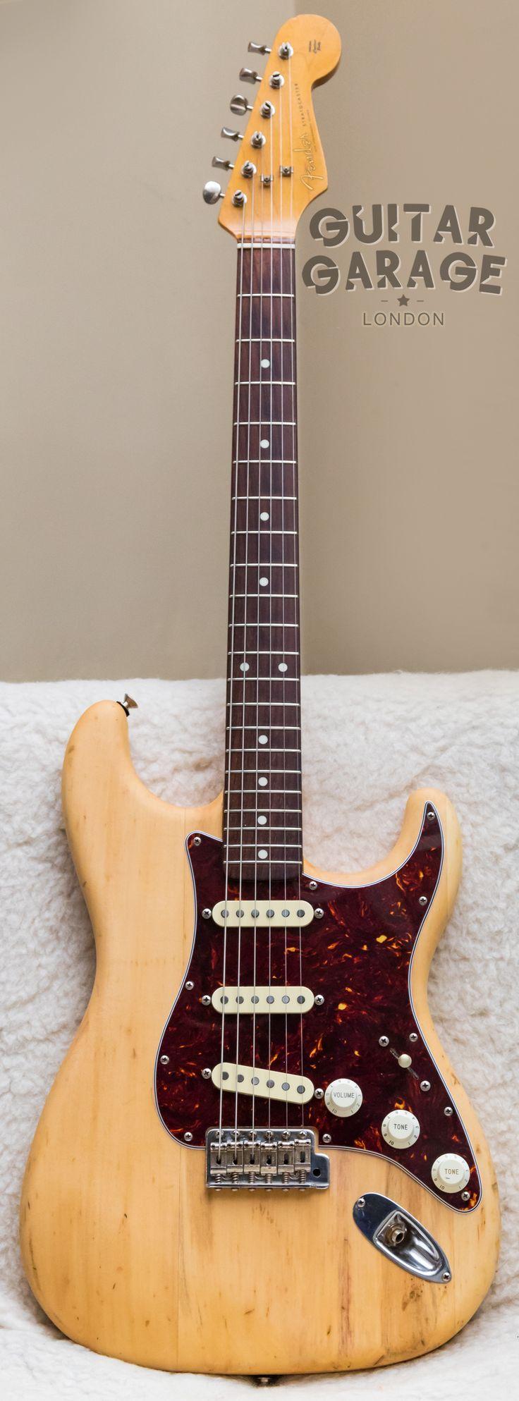 1986 Fender Japan 62 Vintage Reissue Stratocaster Natural Alder