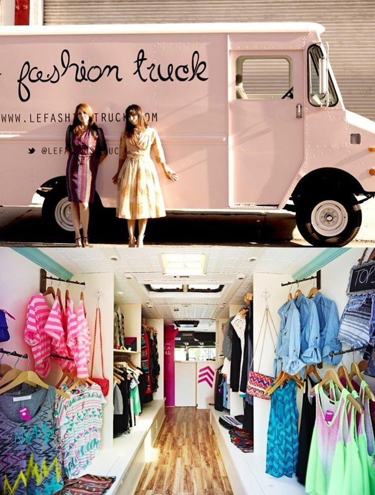 Le Fashion Truck | Blog da FAL | Design, Inspiração & Varejo