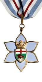 Insignia of the Order of Manitoba.