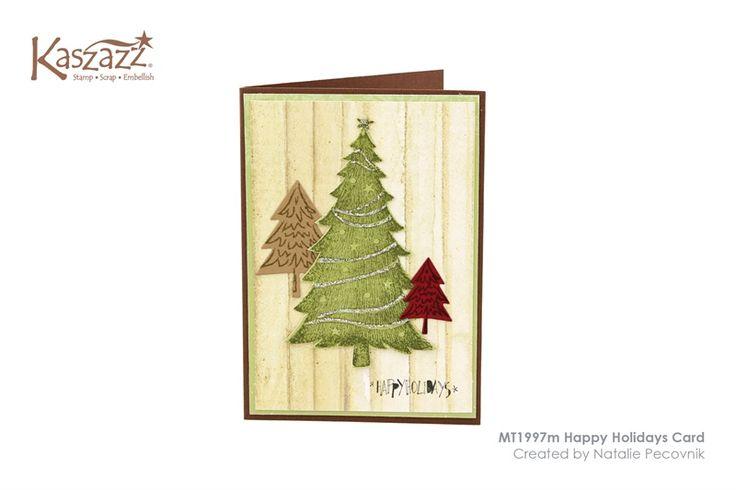 MT1997m Happy Holidays Card