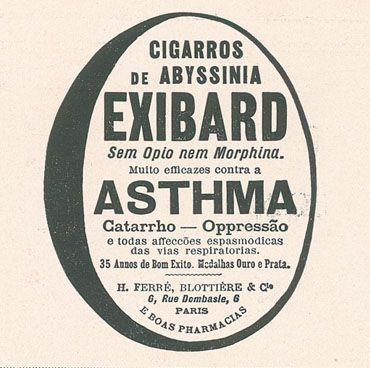 "Todos os tamanhos | Publicidade aos cigarros ""Exibard"", 1914 - Hemeroteca : http://hemerotecadigital.cm-lisboa.pt/OBRAS/IlustracaoPort/1914/N443/N443_item1/P34.html | Flickr – Compartilhamento de fotos!"