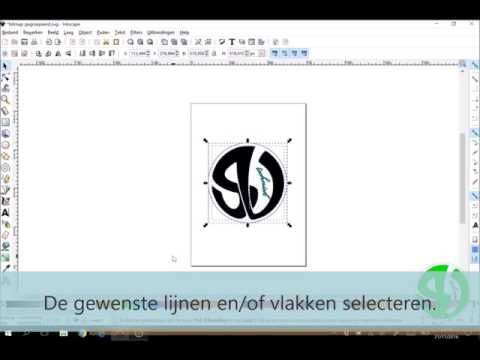 Hoe lijnen en/of vlakken groeperen in Inkscape?